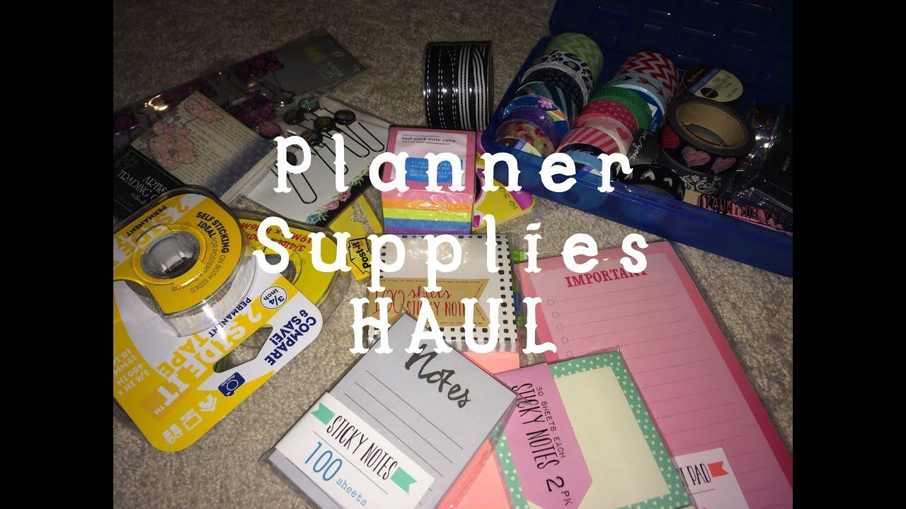 Target Planner 2015 Planner Supplies Haul 2015