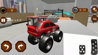 RC Toy Monster Truck Stunts -  Android Gameplay HD - Trucks For Children Stunt Car Games For Kids