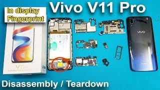 VIVO V11 Pro Disassembly / Teardown ( In display Fingerprint ) | How to open Vivo V11 Pro