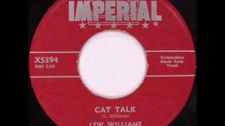 Watch Lew Williams Cat Talk video