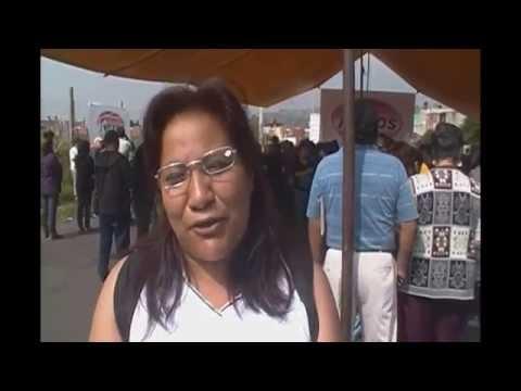 Ixtapaluca, Dip. Armando Corona Entrega 1000 Lentes en Los Heroes