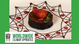 Dessert Plating Decoration Ideas - Dessert Design - Plate Decoration - Chocolate Garnishes-Chocolate