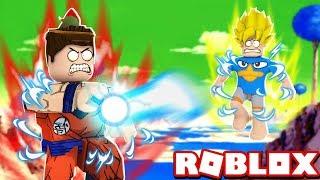 SIMULADOR DE DRAGON BALL SUPER NO ROBLOX!! (Dragon Ball Super Simulator)