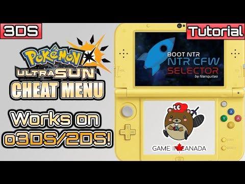 USUMCheatMenu - Pokemon Ultra Sun/Ultra Moon - NTR Cheat Plugin for