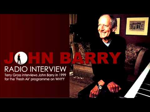 JOHN BARRY  James Bond Music Radio Interview  1999
