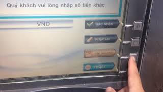 thẻ atm sacombank: đổi pin, rút tiền, xem số dư, chuyển tiền