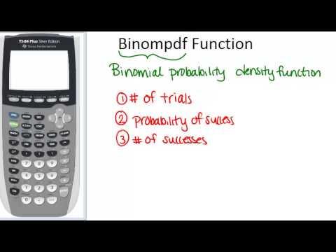 Binompdf Function Principles