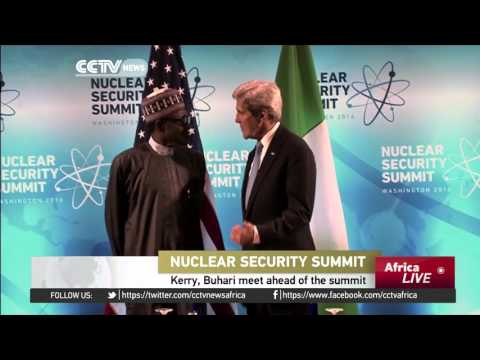 Kerry, Buhari meet ahead of Nuclear Security Summit