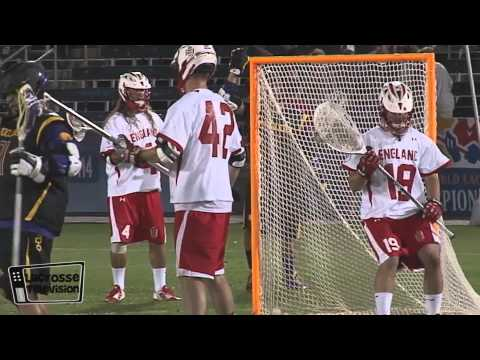 World Games Team England vs Iroquios Last Night on Lacrosse Television