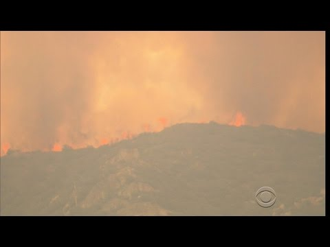 Wildfires rage on in California