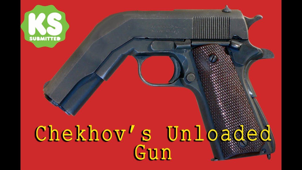 Chekhov Gun Wall Chekhov 39 s Unloaded Gun