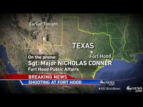 Fort Hood Shooting - 4 Dead including Gunman