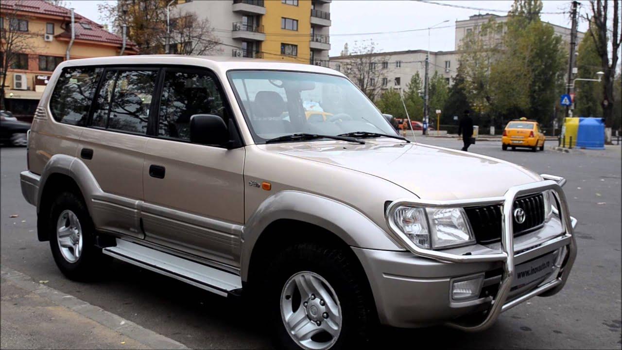 Toyota Land Cruiser 3 0 Diesel 163cp 2002 Inovauto Youtube