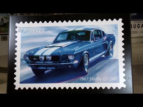 USPS Muscle Car Postage Stamps - Jay Leno's Garage