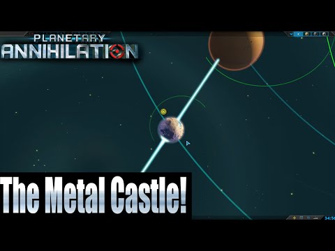 Planetary Annihilation 10 Player FFA - The Metal Castle!
