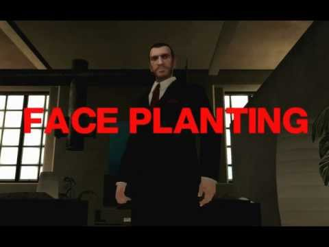 GTA IV Faceplanting