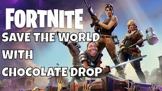 Fortnite Save The World Gameplay - Fortnite Zombies Mode - Valentine Event Stream