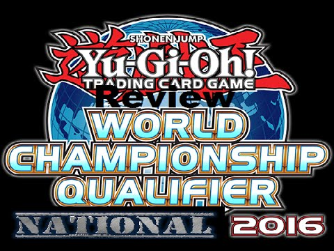 Yugioh UK nationals 2016 Review (it was a great event)