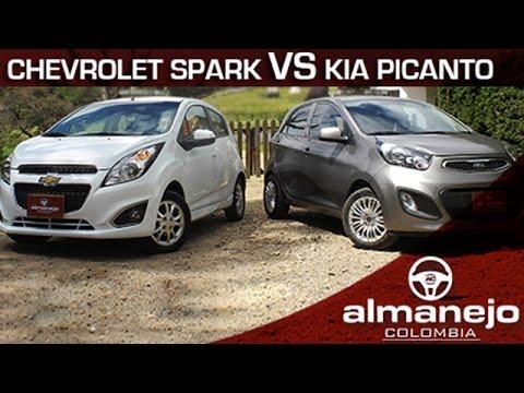 Kia Picanto Ion vs Chevrolet Spark GT Almanejo Colombia