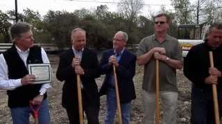 Old No. 9 Depot and Longhorn Cafe Groundbreaking