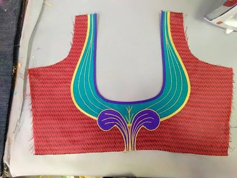 Latest and Designer Blouse Neck Designs 2018 | Stylish New Blouse Design | Blouse Back Neck Models