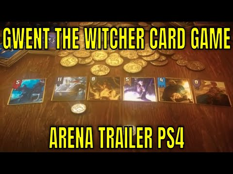 Gwent The Witcher Card Game - Arena Trailer PS4