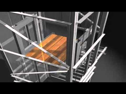 Single Pallet Elevator Conveyor | (Invata Intralogistics)