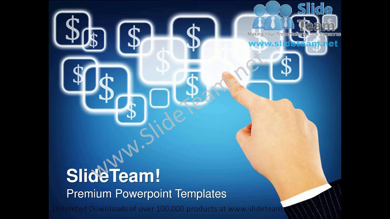 touch screen technology powerpoint templates ppt themes