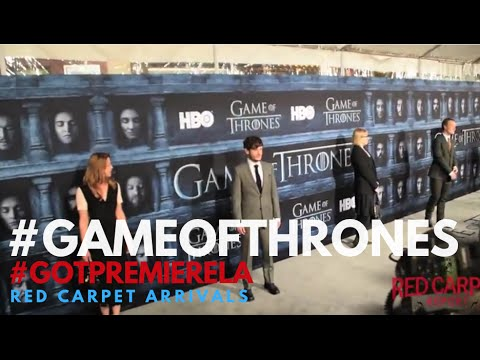 Game Of Thrones Season 6 Premiere Cast Celebrity Arrivals Gameofthrones