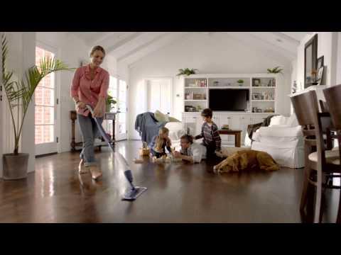 Pulire il parquet in modo sicuro, veloce ed efficace con Bona Spray Mop (video in italiano)
