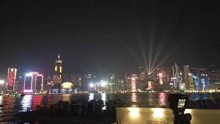 Hongkong's Symphony of lights