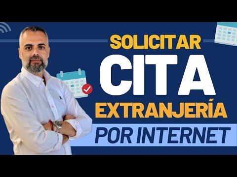 Cómo pedir Cita en Extranjería por Internet