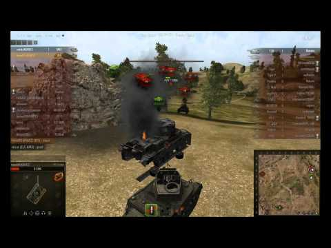 X0041 - World of Tanks - M5 Stuart - Playing with the big tanks