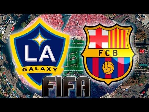 LA Galaxy vs Barcelona 2015 / 16 FIFA
