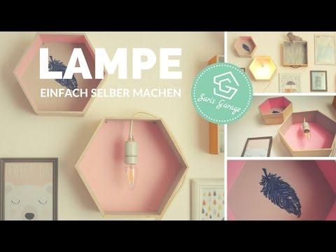 Lampe selber machen - DIY - Kinderlampe bauen - Deko fürs Kinderzimmer - Anleitung