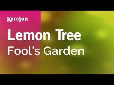 Karaoke Lemon Tree - Fool's Garden * video