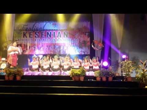 Festival Kesenian Ukm - Dikir Barat (ktho) video