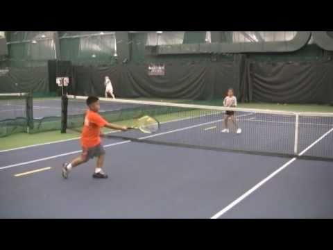 Midtown Athletic Club テニス Kids Prepare for U.S. Open