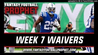 Week 7 Waiver Wire - Fantasy Football
