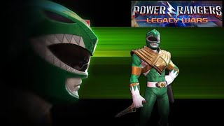 POWER RANGERS LEGACY WARS RED RANGER 🆚 GREEN RANGERS TOMMY OLIVER ORIGINAL