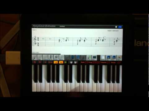 Symphonix Evolution - MIDI Sequencing and Notating