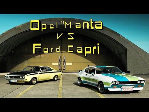 Opel Manta vs. Ford Capri - Special Extended 16:9 Version!