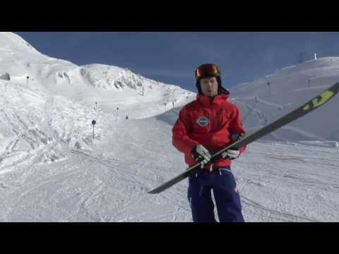 Salomon ski test
