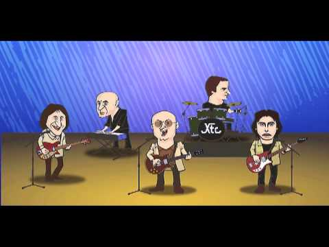 Animation of XTC! Garden of Earthly Delights Melodion Cover