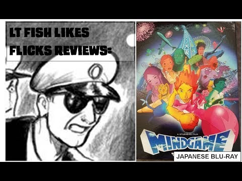 """LT Fish Likes Flicks: Mind Game - Japanese Blu-Ray/DVD """"Exclusive Edition"""" Review"""