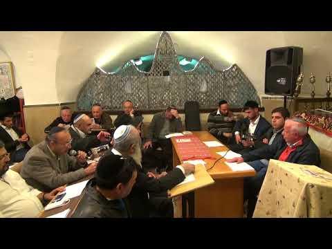 """התוואחיד ערב ר""""ח ניסן בבית הכנסת הר ציון בקבר דוד המלך"""