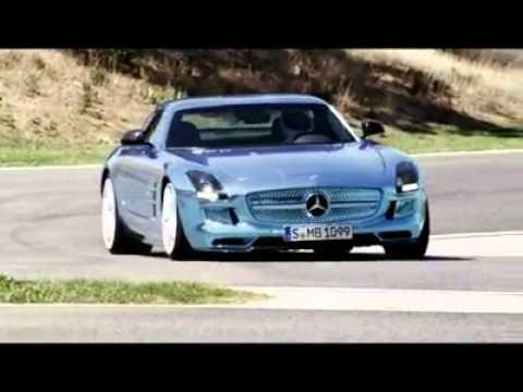 Der stärkste Elektro-Supersportwagen der Welt: Mercedes-Benz SLS AMG Coupé Electric Drive