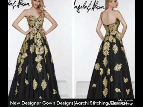 Latest  gown design || New designer gown designs