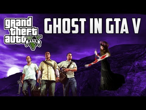 GTA V Ghost Location! Scary Ghost in GTA V!