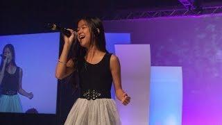 Tiffany Espensen Performs at Premiere Event